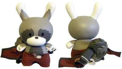 Raku_day_red_-_8-huck_gee-dunny-kidrobot-trampt-129103m