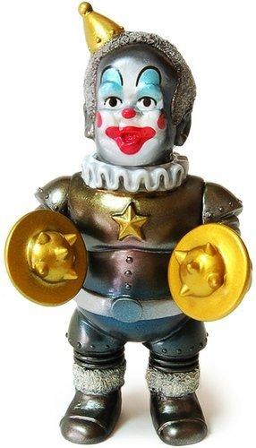Iron_clown_mini_-_white_head-kikkake-iron_monkey-kikkake-trampt-130982m