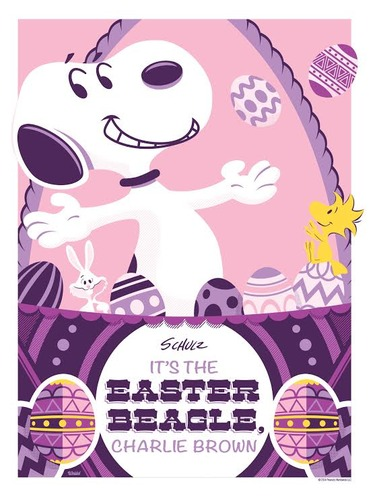 Its_the_easter_beagle_charlie_brown_-_variant-jayson_weidel-screenprint-trampt-131850m