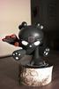 "8"" Black Skullhead x Pawnny Custom"