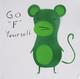 """Go """"F"""" Yourself Monkey"""