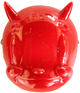 Red Lucky Devil Mask