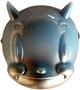 Indigo Fade Lucky Devil Mask