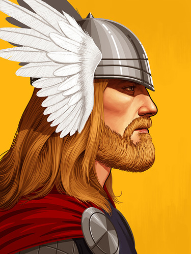 Thor_-_beard-mike_mitchell-gicle_digital_print-trampt-134745m