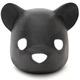 Black Original Bear Head