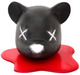 Decapitated Black Bear Head