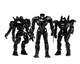"Pacific Rim ""End Titles"" Jaeger Action Figure 3-Pack"