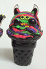 Ice Cream Monster - Two-eye WAO/Neon Color Corn Version