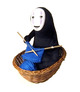 "Spirited Away No Face Kaonashi 6"" Plush"
