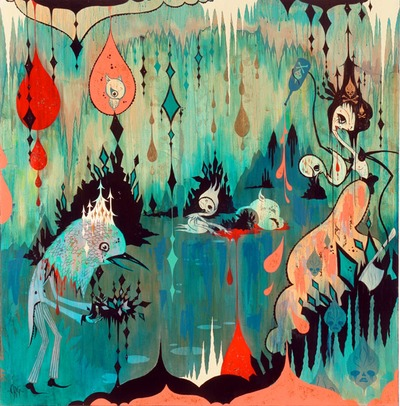 Architeuthis_land_marooned-camille_rose_garcia-mixed_media-trampt-140374m