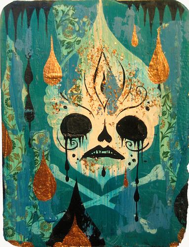 Poison_skull-camille_rose_garcia-mixed_media-trampt-140399m