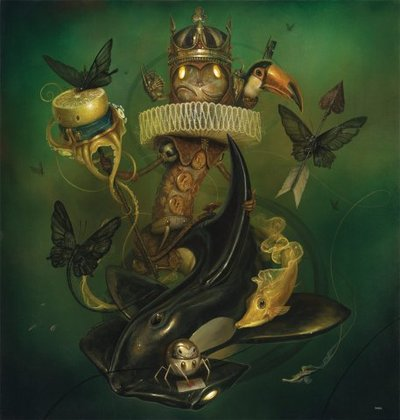Who_made_you_king_-craola_greg_simkins-acrylic-trampt-140820m