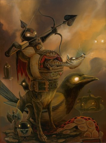 The_search_party-craola_greg_simkins-acrylic-trampt-140824m