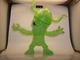 Skull Zombi - WF 42 Green GID (green eye)
