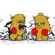 HUGO vs Bearchamp 'The Battle' Print