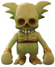 Skullwing GID green w/ gold glitter