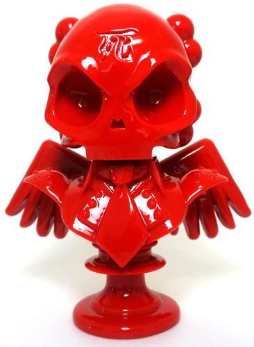 Skullhead_bust_-_shiny_red-huck_gee-skullhead_bust-self-produced-trampt-143934m