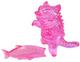 Kaiju Negora - Clear Pink