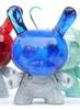 Resin Skullhead Blue/Silver