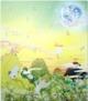 Yuyake-chan Miss Sunset Print