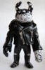 2013 REAL X UAMOU CHAOS WARRIORS - black leather jacket