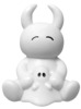 UAMOU CAPSULE TOY - white Uamou & ghost-chan smiling