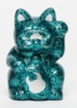 Fortune Cat Baby - uamou green lame