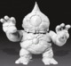 8-BALL - DIY Blank White Soft Vinyl Kaiju Figure