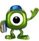 POP! Disney - Monsters University Mike Wazowski Metallic (SDCC Exclusive)