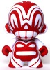 Sketch Totem Mini Munny - Red/White