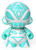 Sketch Totem Mini Munny - White/Teal