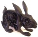 Lepus Pellis Os Omentum - Black (Slice Of The Weird: The Art of Nychos Exclusive)