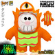 Kawaii Kaiju Purridge (Limited Edition) - Tangerine