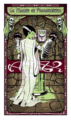The_bride_of_frankenstein_silk_screened_print-manlyart_jason_chalker-silkscreen-trampt-160476m