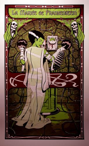 The_bride_of_frankenstein_silk_screened_print-manlyart_jason_chalker-silkscreen-trampt-160477m