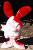 Melted Voodoo Candy Cane Bunny 01