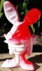 Melted Voodoo Candy Cane Bunny 02