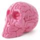 Mini Skull Brain - pink