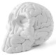 Mini Skull Brain (white)
