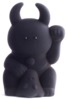 Charcoal Black Fortune Uamou