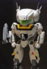 Chibi Skull Leader VF-1S in Military Gray