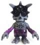 Skull BB - marbled black & purple