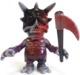 Skull BB - marbled black & purple (Chase-Bloody w/ Boogie scythe)