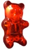 Gummi Bear Anatomy Puzzle Toy - Red