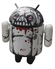 Black & White Zombie Droid