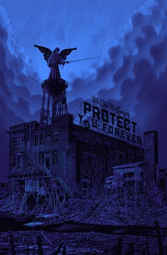 We_can_no_longer_protect_you_forever_-_blue-daniel_danger-screenprint-trampt-173564m