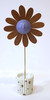 Blue Flower Sculpture