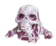 Skulor the Worm King - Marbled (Cranberry and White)