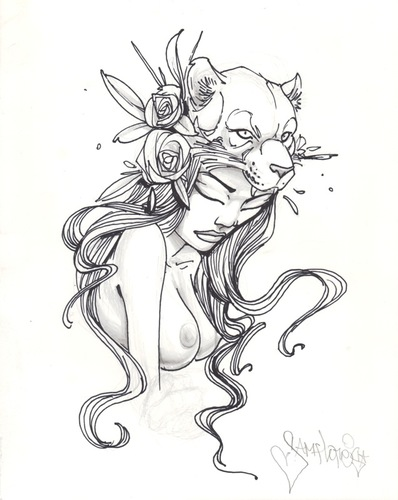 The_lioness_drawing-sam_flores-graphite__ink-trampt-175191m