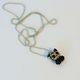 Dark Trikky Zipperpull Necklace
